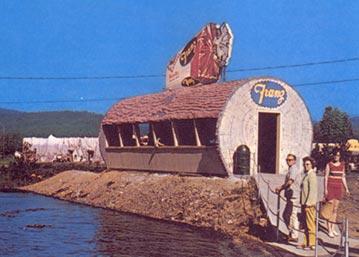 Franz Bread Rest Hut at Pixieland in Lincoln City, Oregon