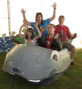 Pixieland Whale Ride Car